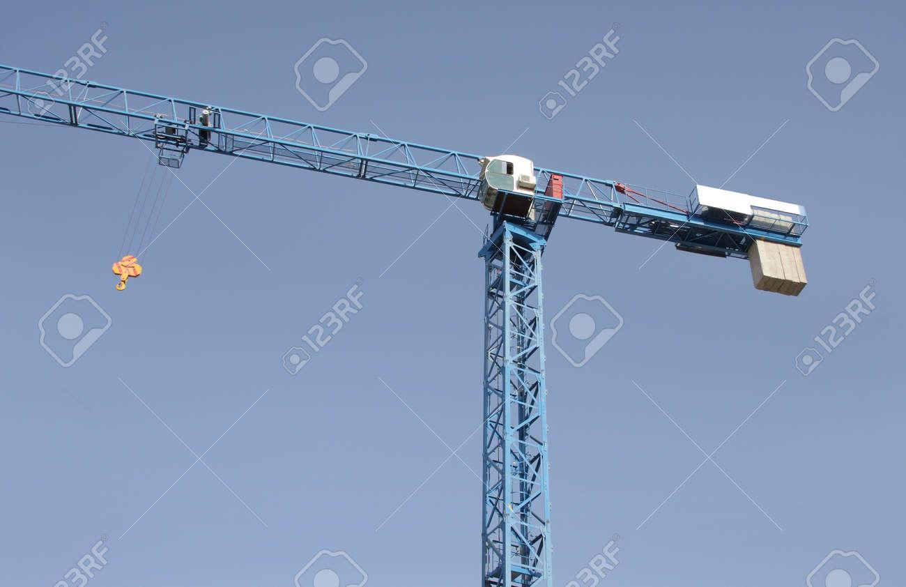 highrise crane Stock Photo - 15265892