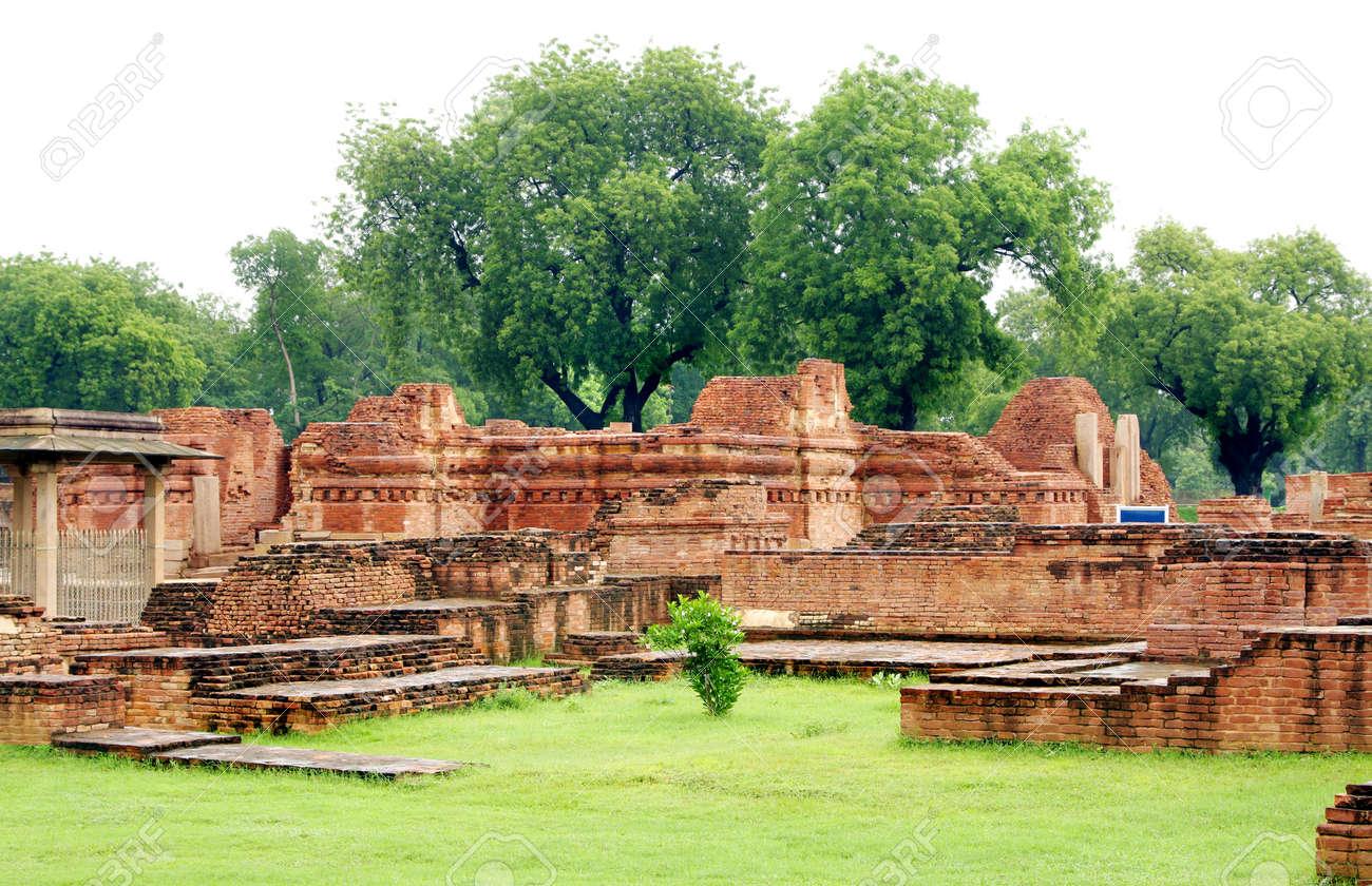 The main shrine, Mulgandhakuti ruins at Sarnath, India Stock Photo - 17429998