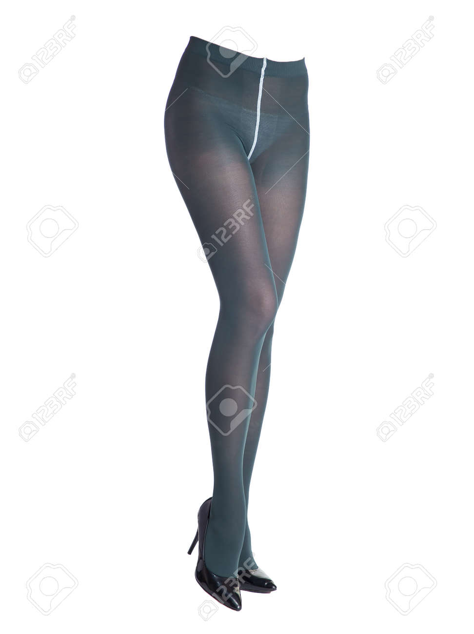 Dark blue pantyhose