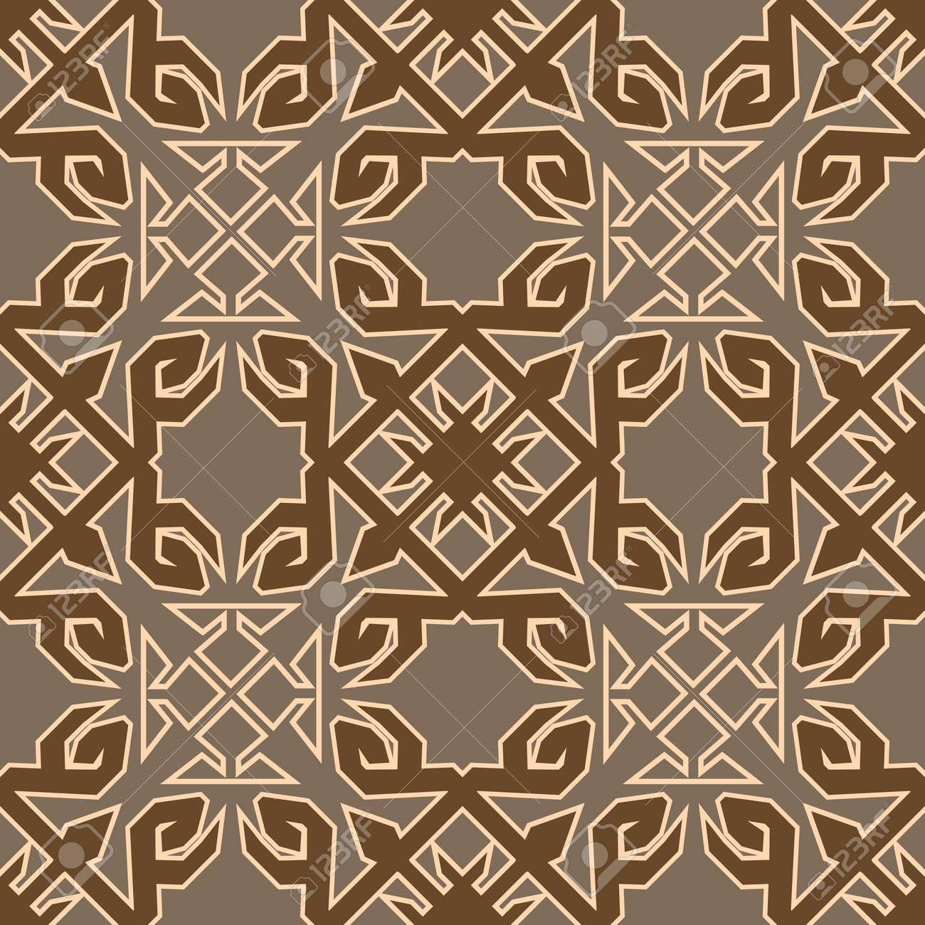 Das Geometrische Muster Von Teppich Fliesen Vorhängen Und