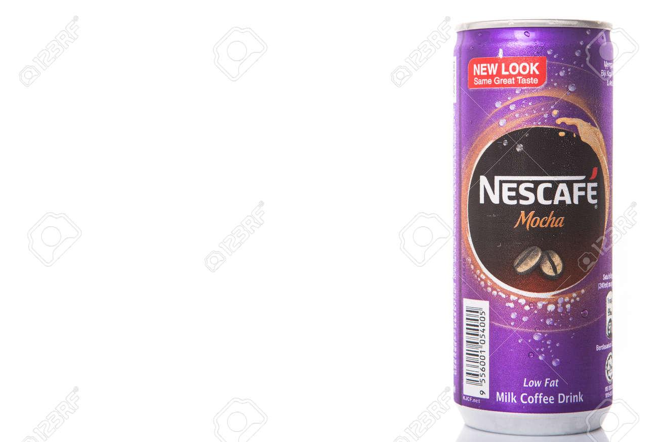 Nescafe mocha can