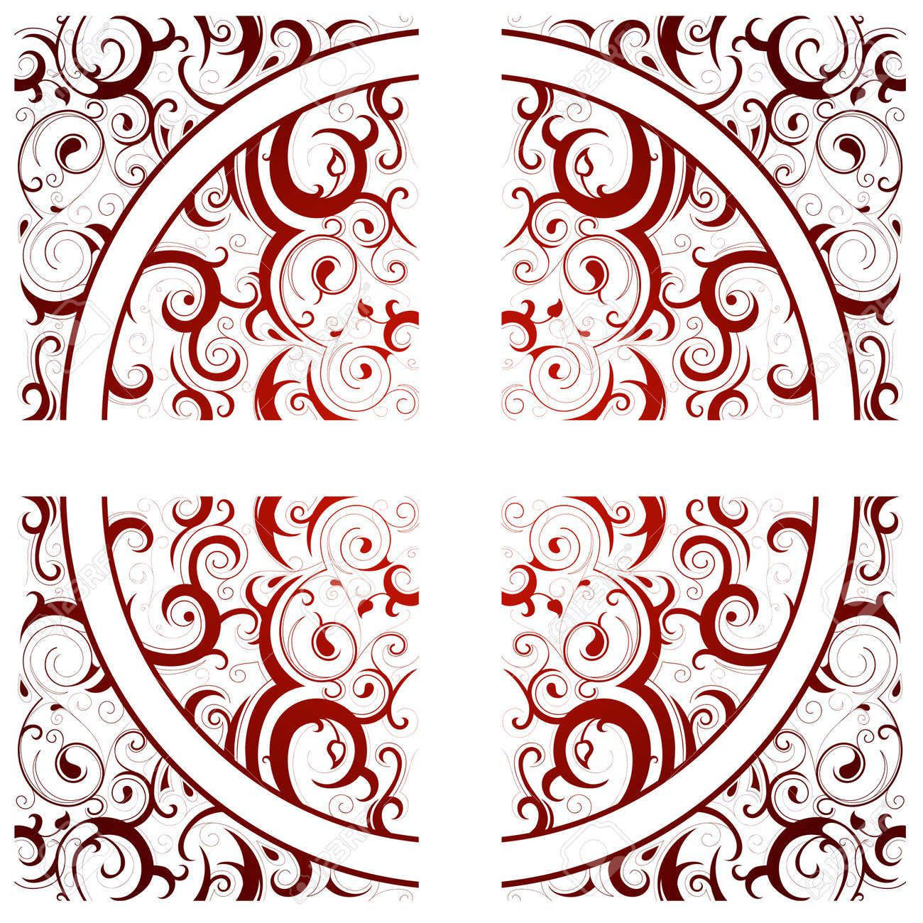 Seamless ornament with tribal art elements Stock Vector - 14503854