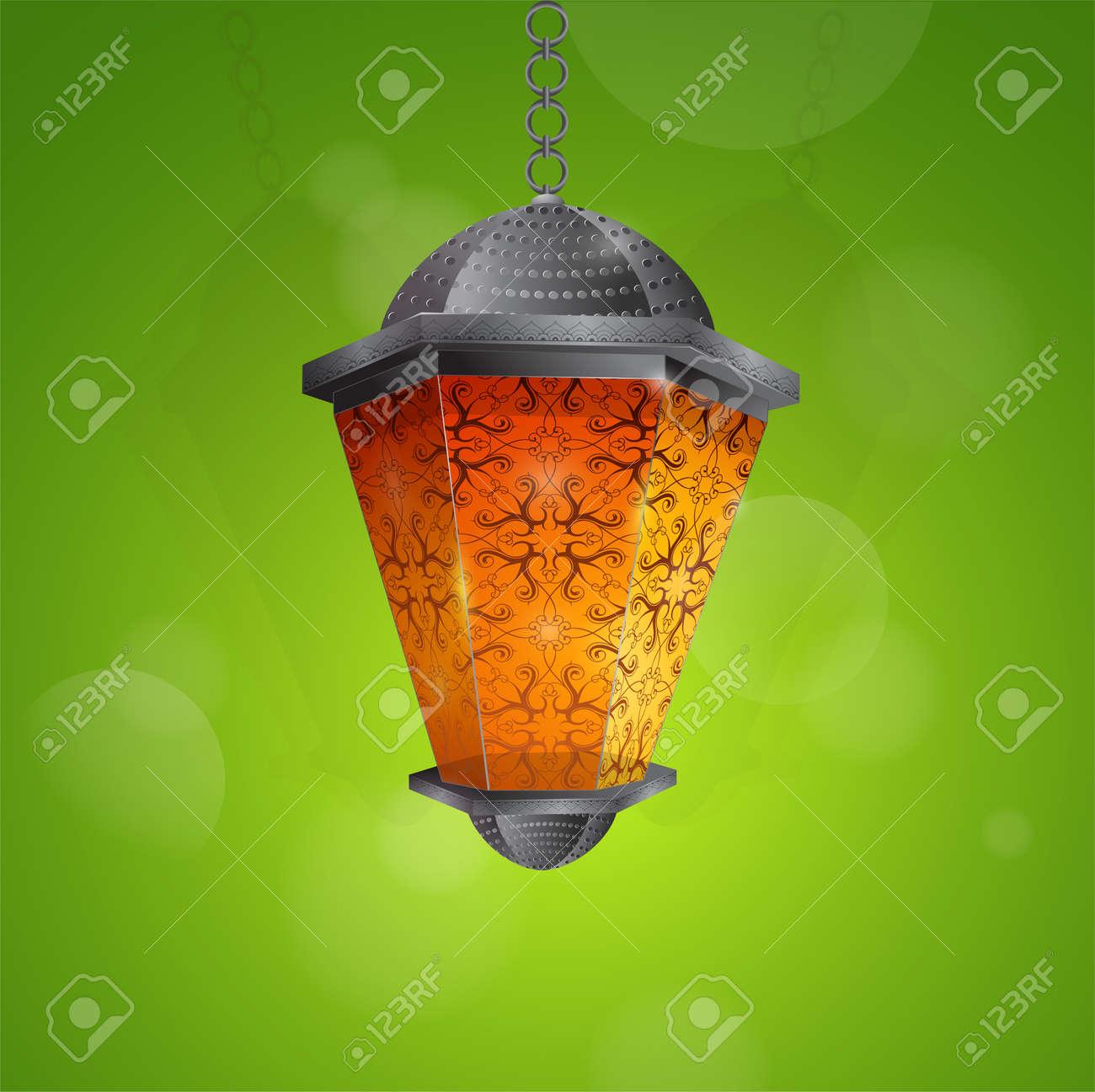 Arab lantern as traditional decoration for islamic holy month arab lantern as traditional decoration for islamic holy month ramadan greeting card design eps m4hsunfo