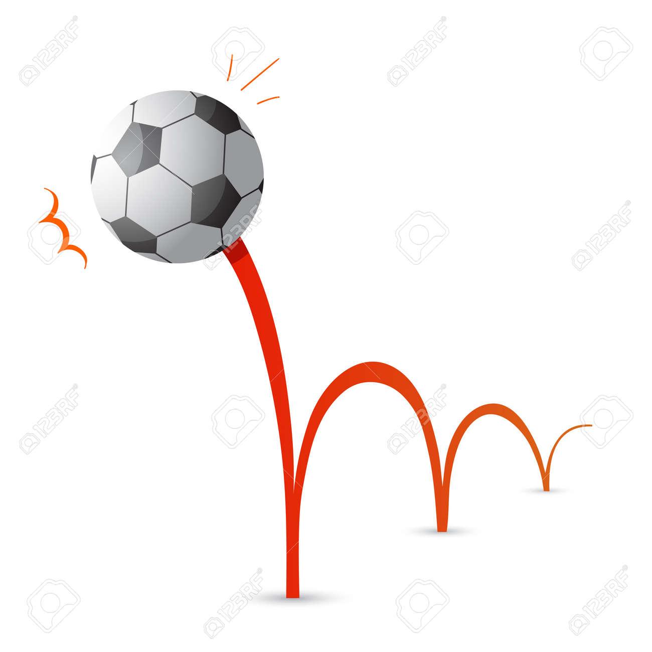 Bouncing soccer ball cartoon - 31363259