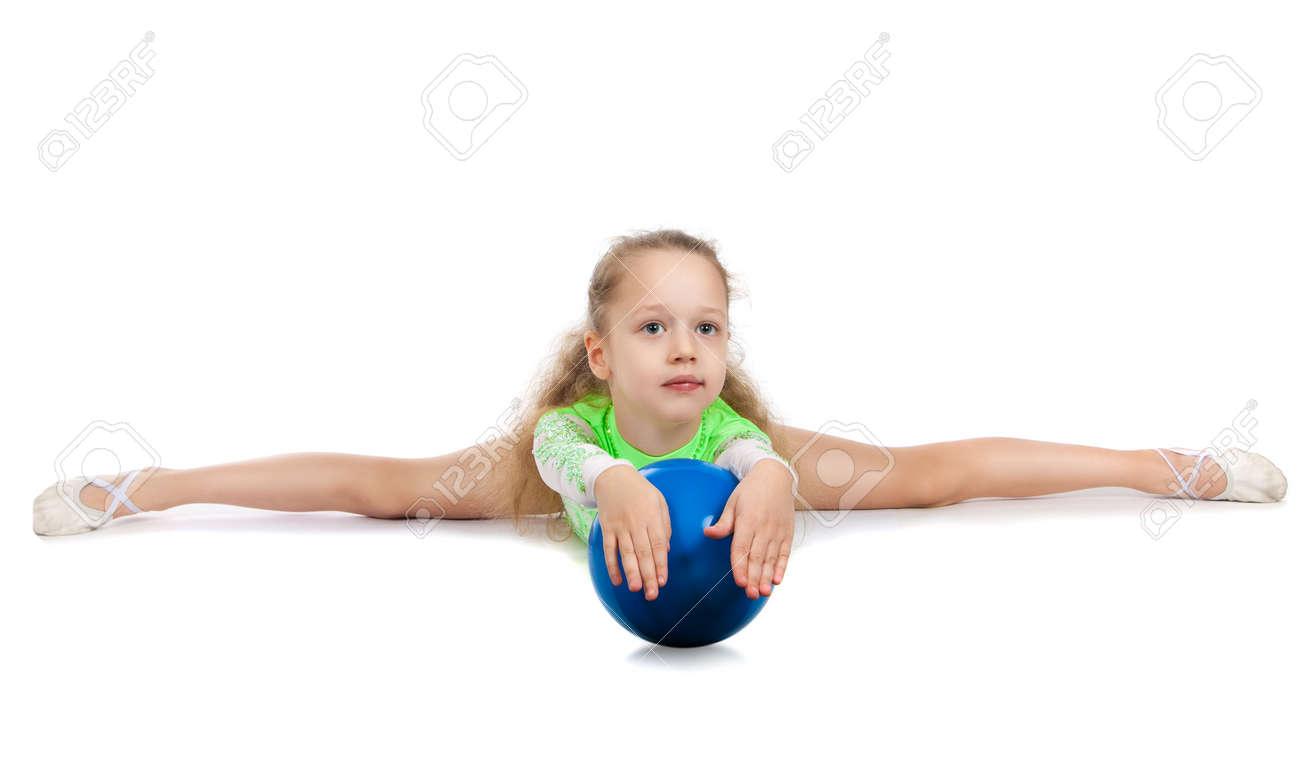 floor gymnastics splits. picture floor gymnastics splits