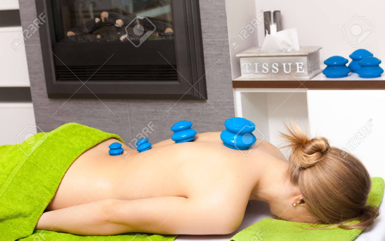 beauty treatment concept woman getting spa therapy cupping glass vacuum massage in salon alternative stock photo 8224 resume cv cover letter spa - Masseur Cover Letter