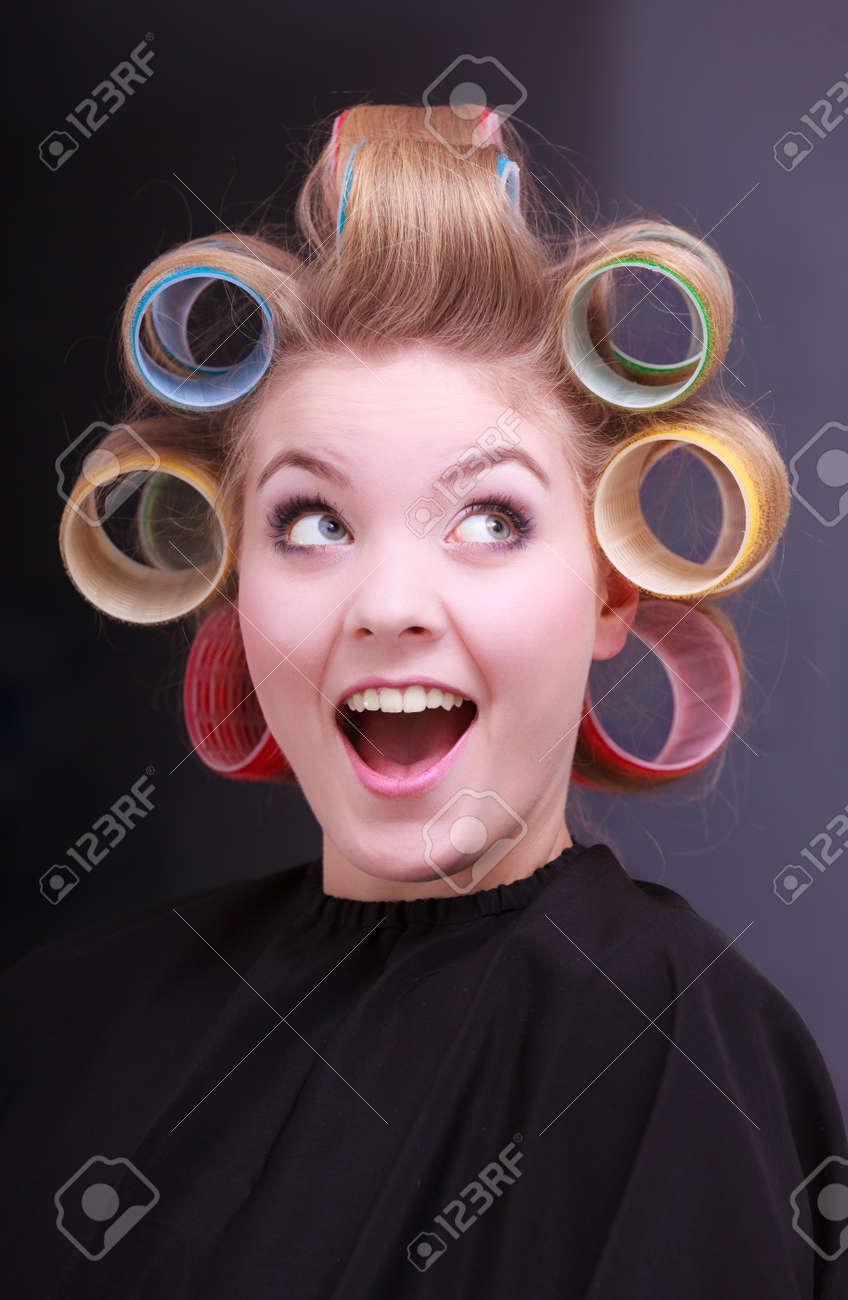 ビューティー サロン美容髪型で...