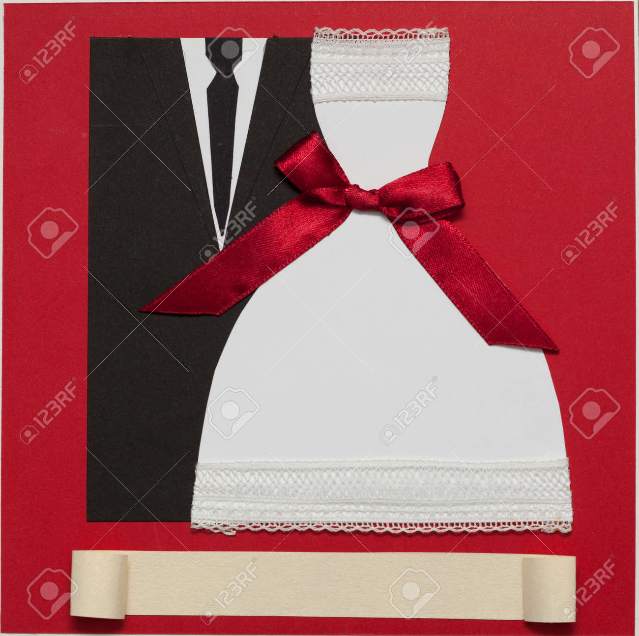 Wedding Invitation Card Paper Cutting Design Papercraft Elegant ...