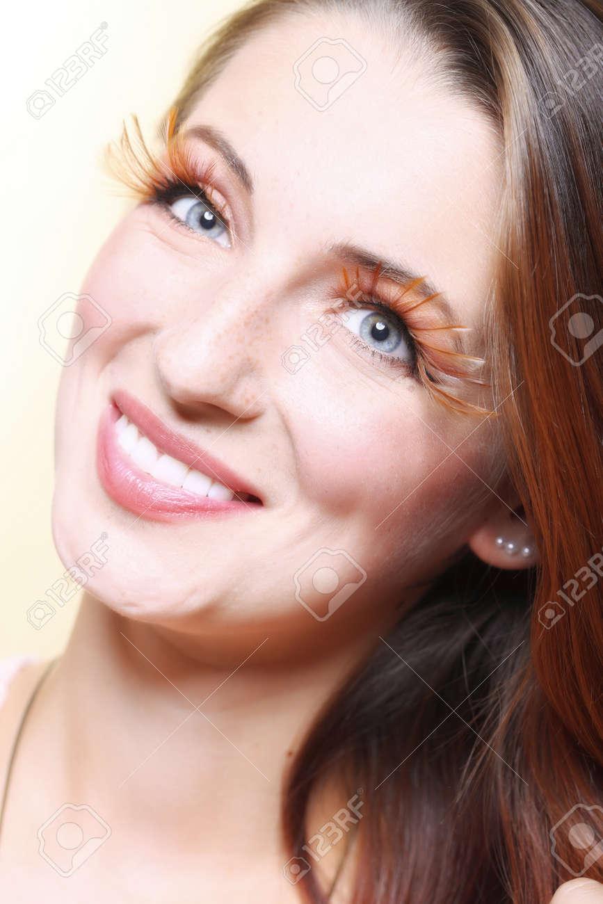 Création D'automne De Faux Femme Mode Maquillage Élégant fgb6yY7v
