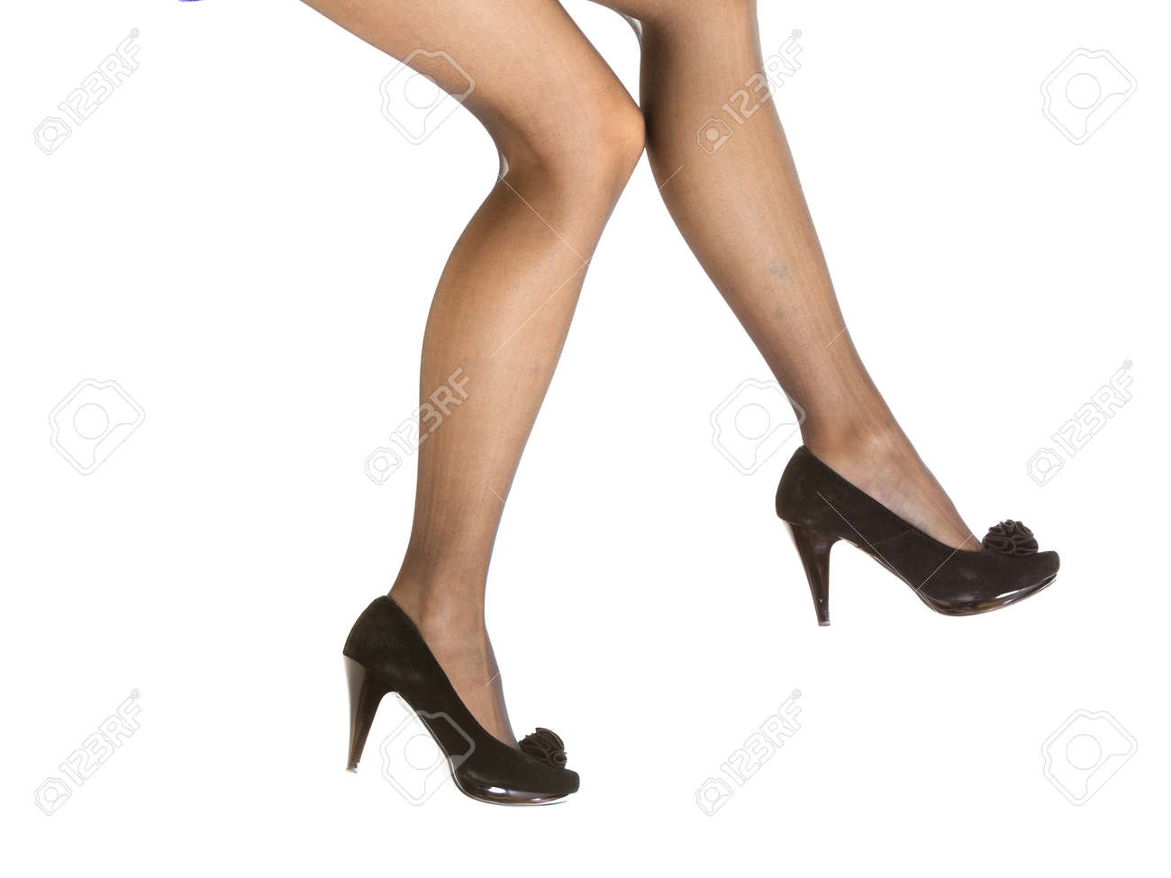 Cristopher recommend best of girls black heels high