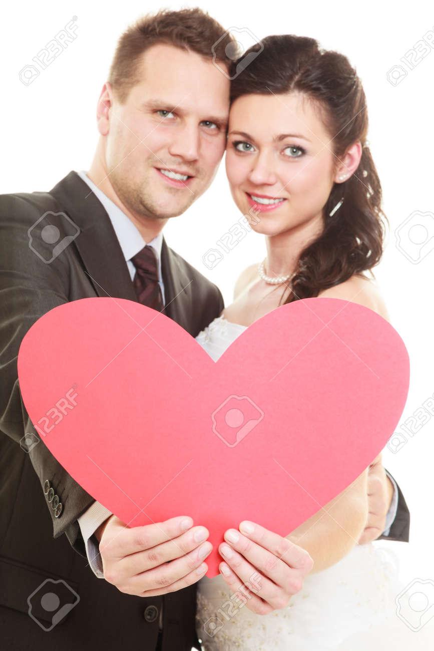 Día De La Boda. Amor Y Afecto. Portait De La Muchacha Novia Feliz ...