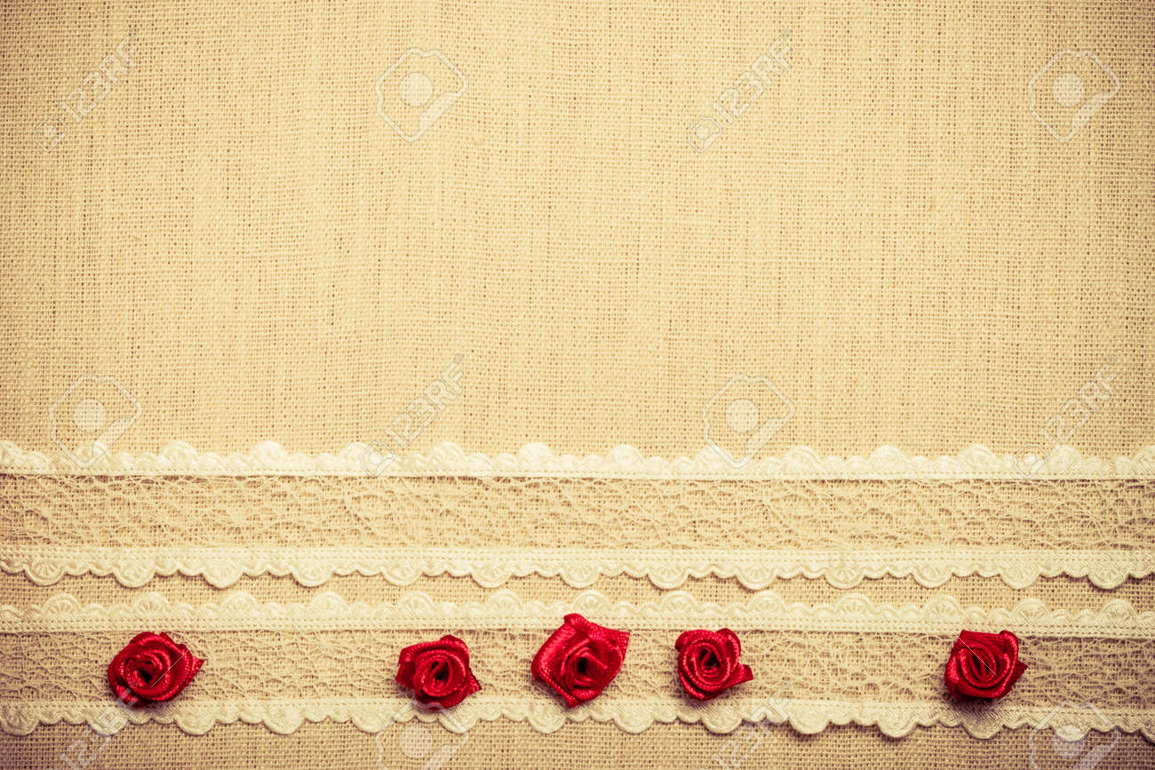 Valentines Day, Wedding, Invitation Or Greeting Card. Red Decorative ...