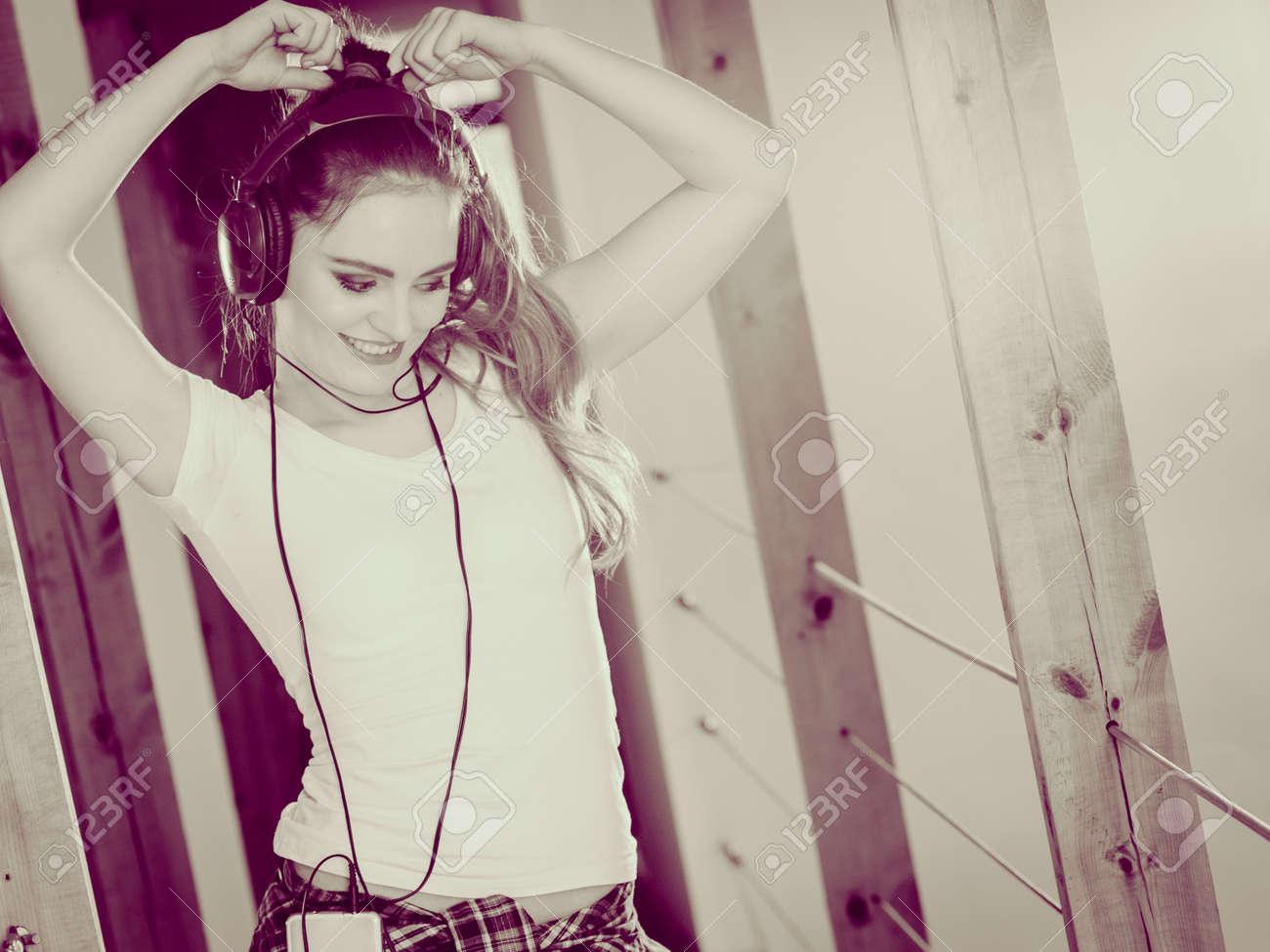 favorite hobby listening to music