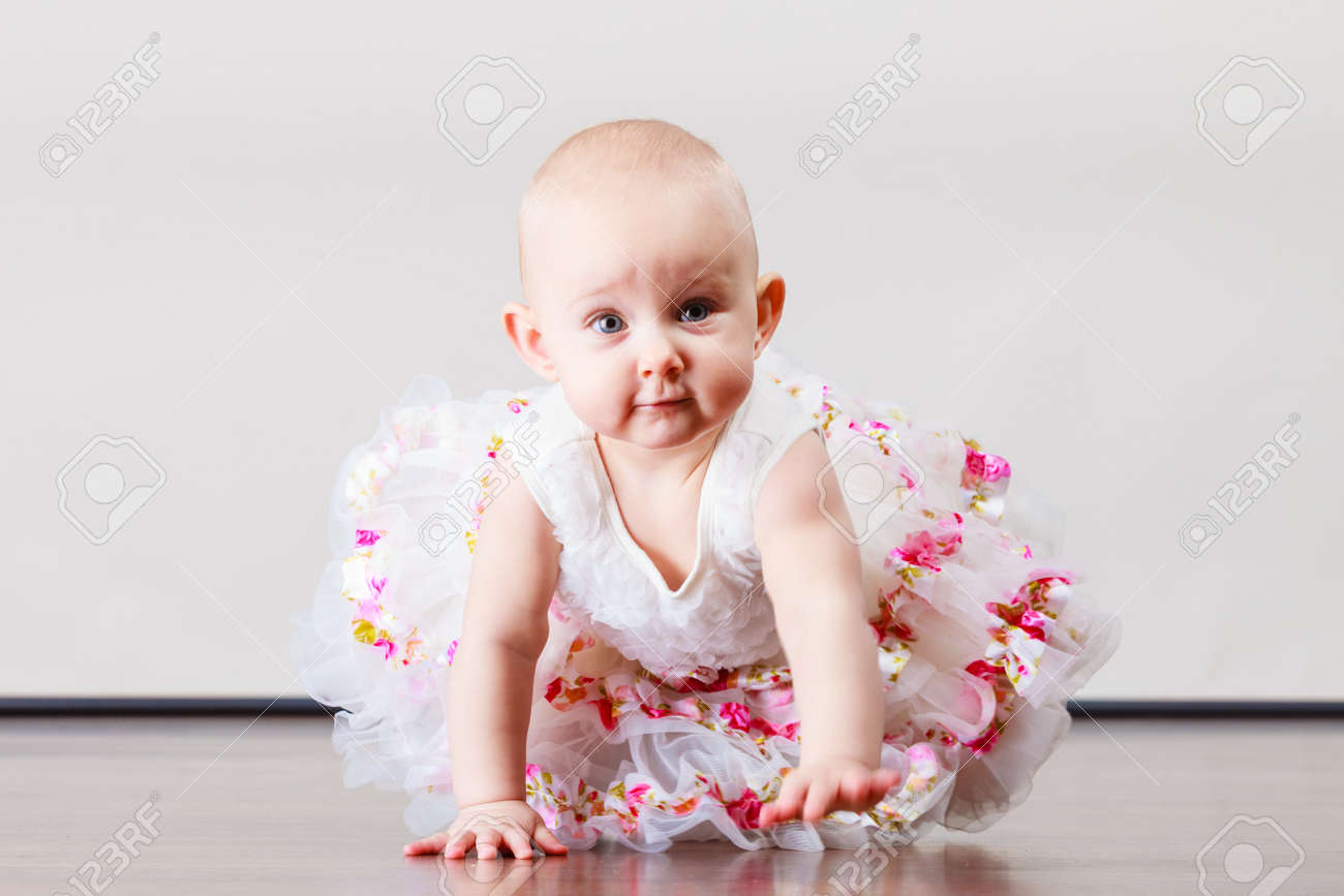 Lovely Little Child Girl In Princess Fairy Dress Portrait Of Stock Photo Picture And Royalty Free Image Image 66033674