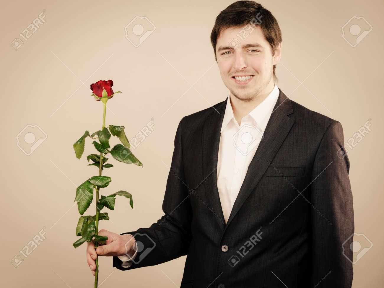 dating handsome man