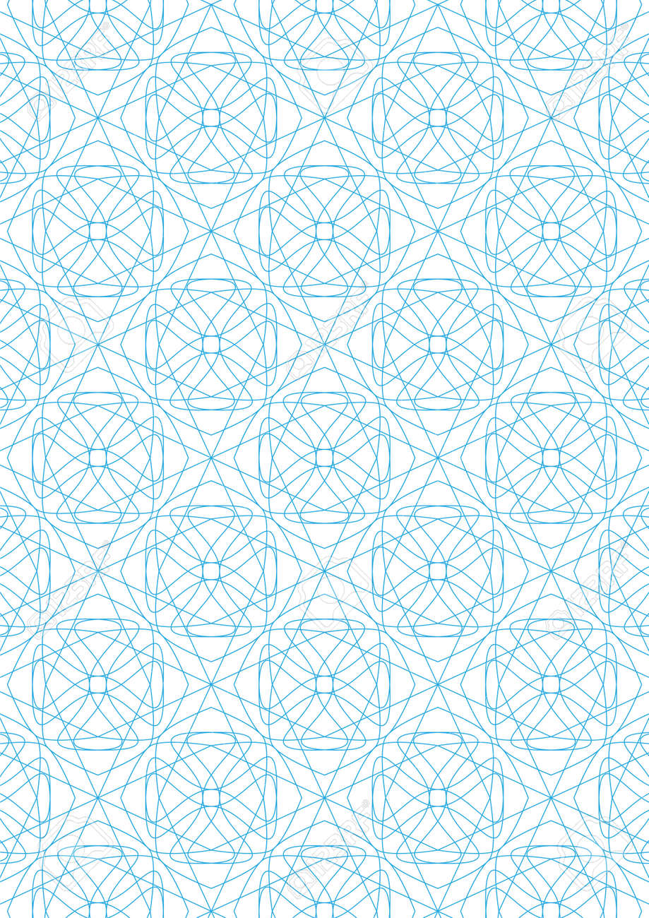 Repeating geometric lines on white background pattern Stock Vector - 24522039
