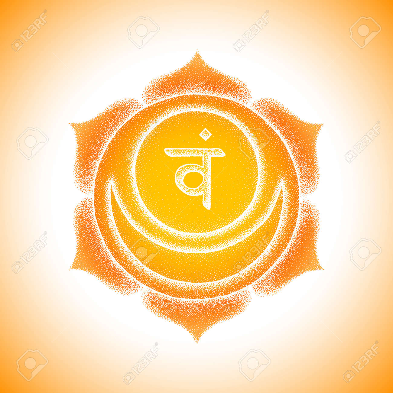 Second Svadhishthana sacral chakra sanskrit seed mantra Vam Hinduism
