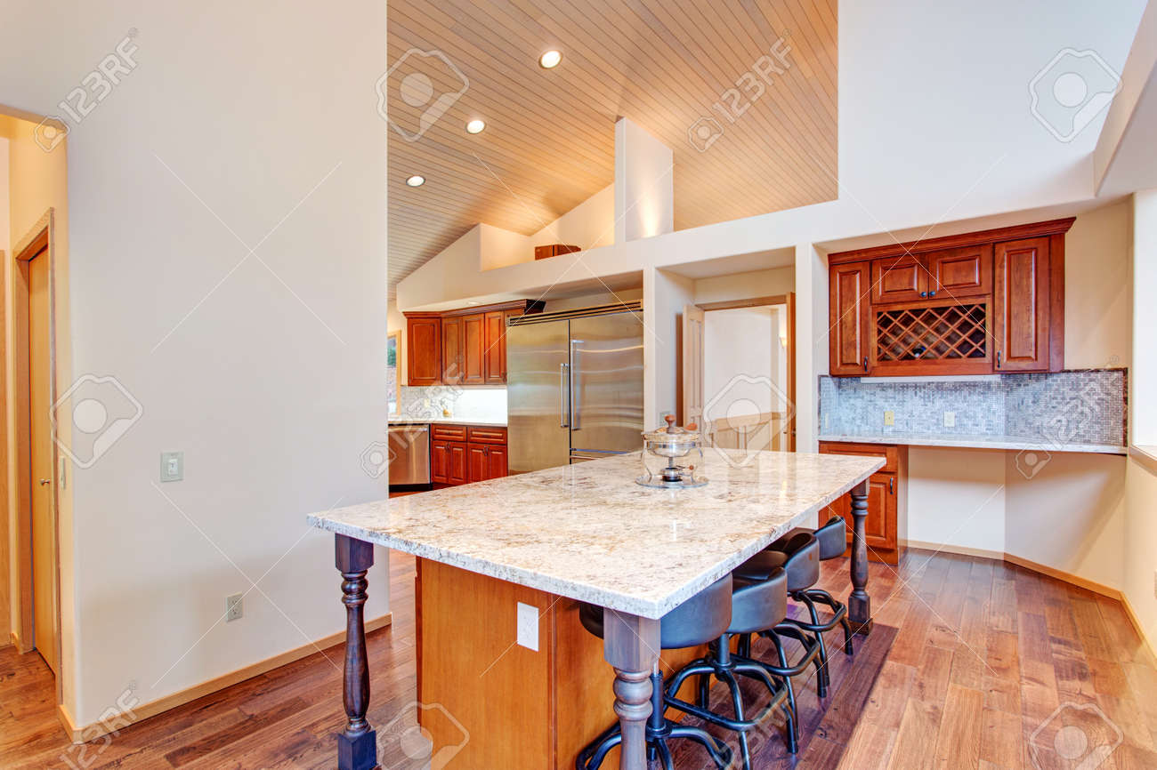 Super Open Floor Plan Kitchen Design Features Breakfast Nook With A Home Interior And Landscaping Ologienasavecom