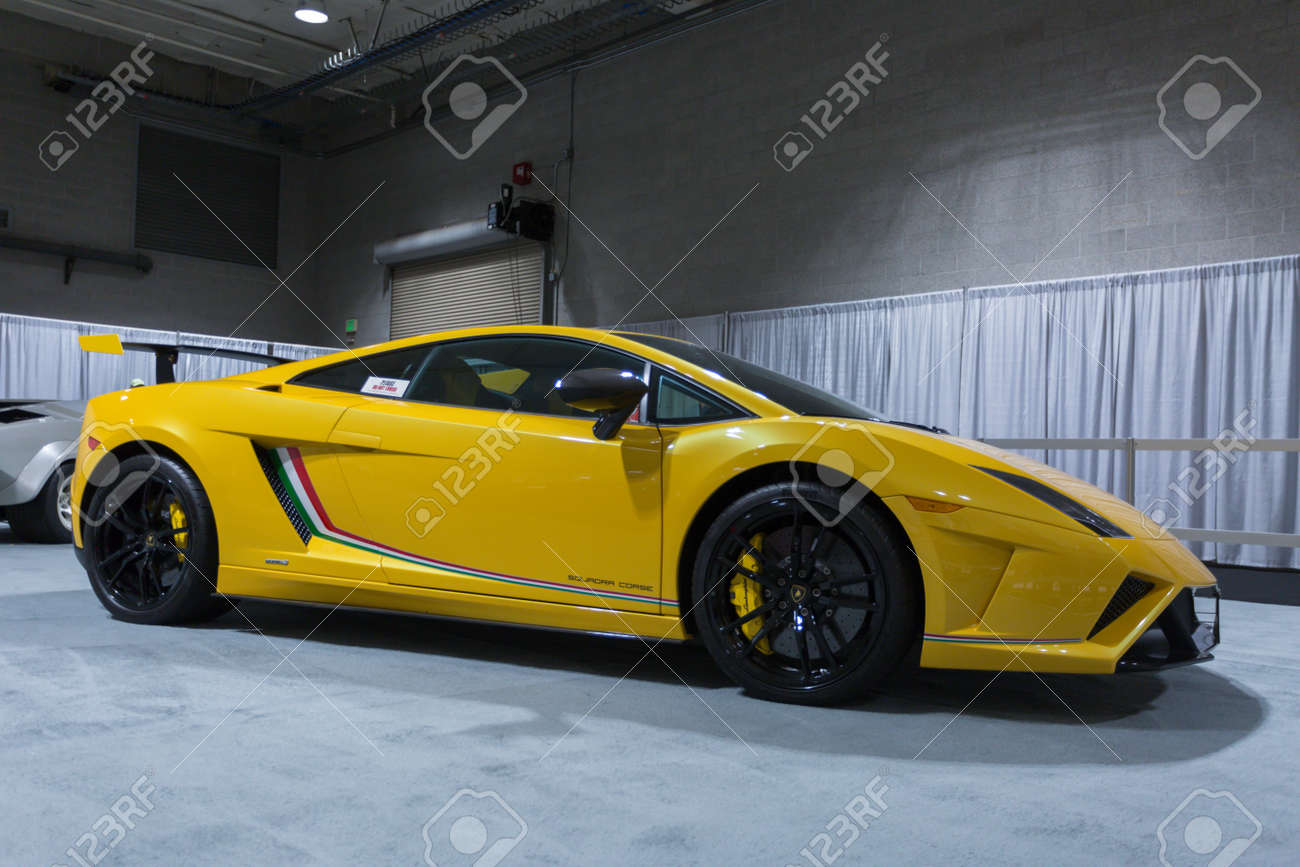 Lamborghini Gallardo 2017 >> Seattle Wa November 12 2017 Seattle International Auto Show