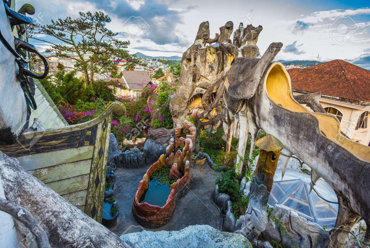 DA LAT, VIETNAM - NOV 26: Hang Nga Guesthouse, Popularly Known ...
