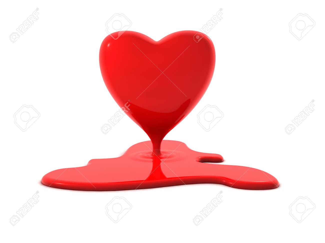 Bleeding or melting heart perfect symbol for valentines day bleeding or melting heart perfect symbol for valentines day burning love or a broken buycottarizona