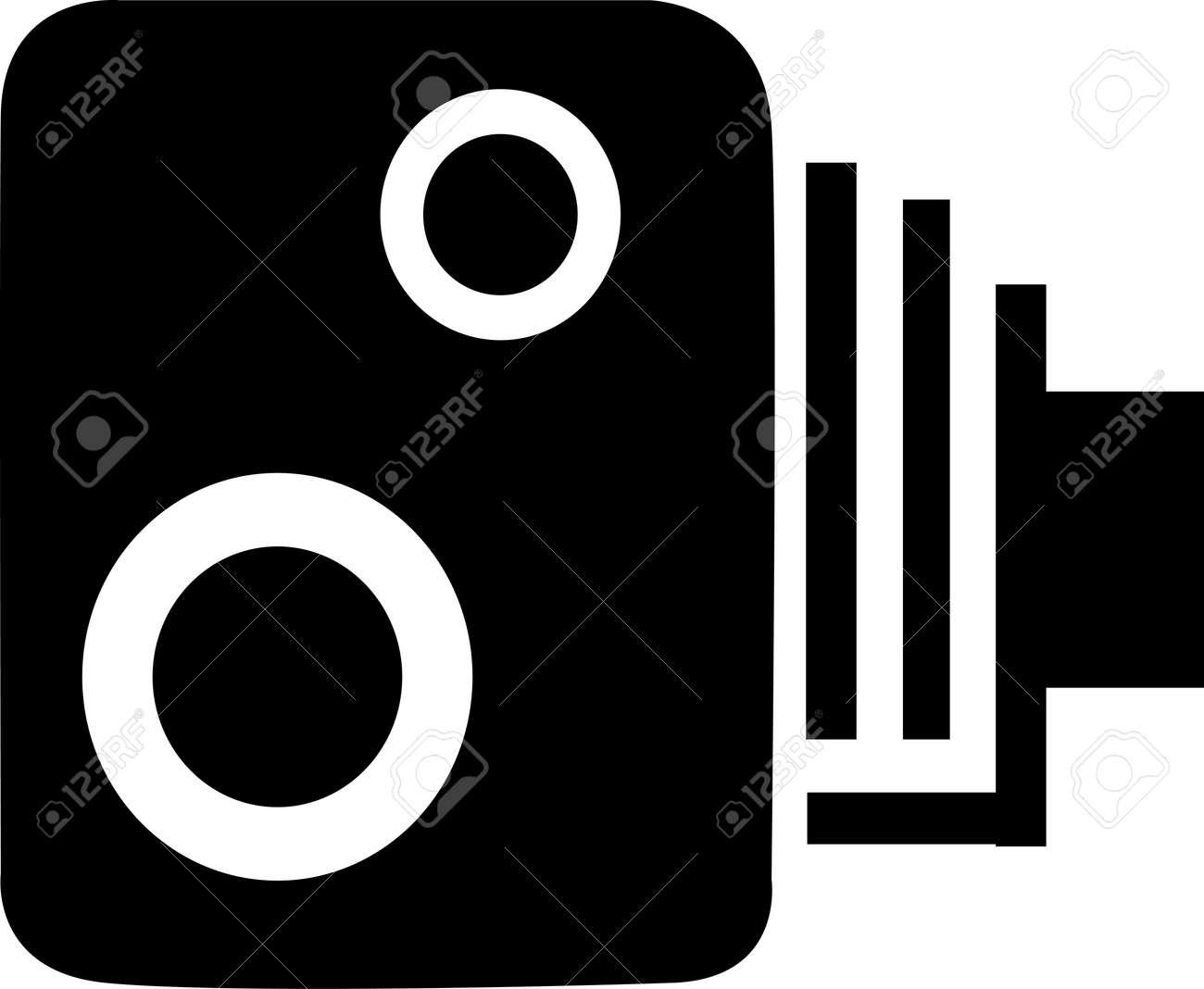 Speed Camera Stock Vector - 14957481