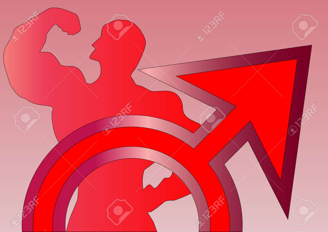 The astrological sign for mars energy and the god of war royalty the astrological sign for mars energy and the god of war stock vector 26747744 biocorpaavc Images