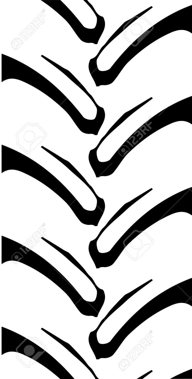 tyre tread of a typical generic tractor or off road vehicle royalty rh 123rf com tire tracks vector free download tire tread vector image