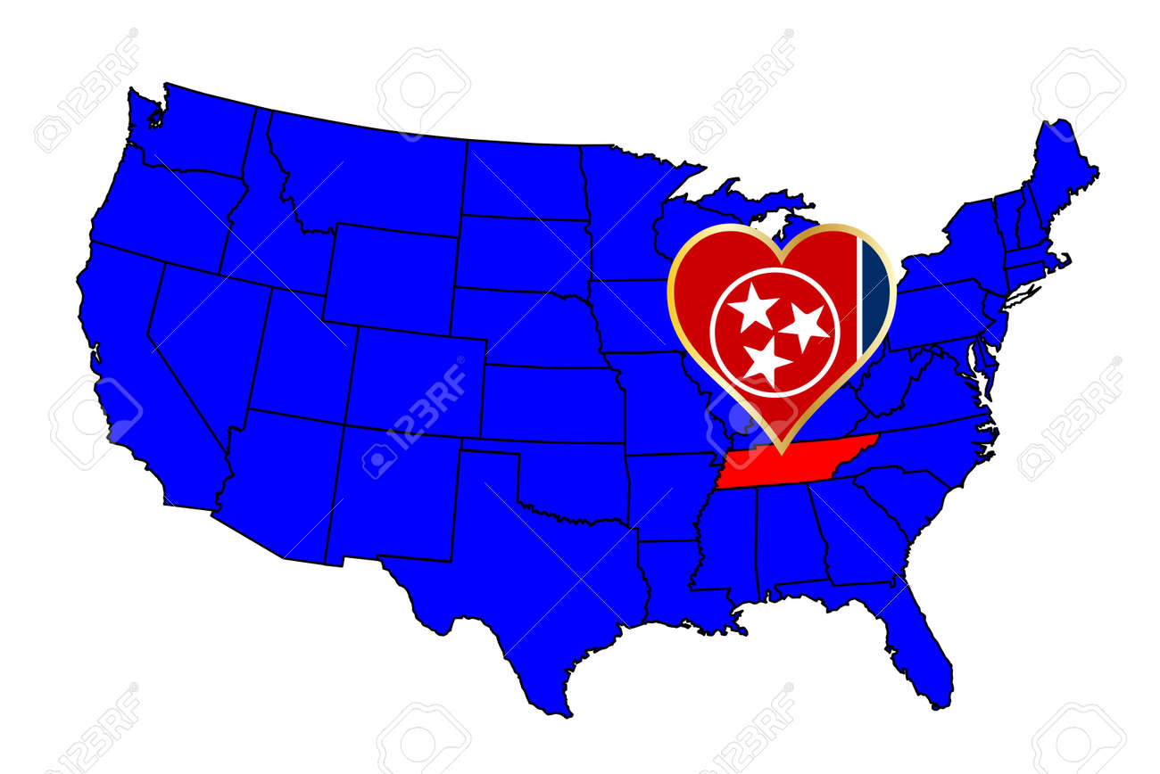 Tennessee Maps And Data MyOnlineMapscom TN Maps Tennessee Ipl - Us map with state outlines