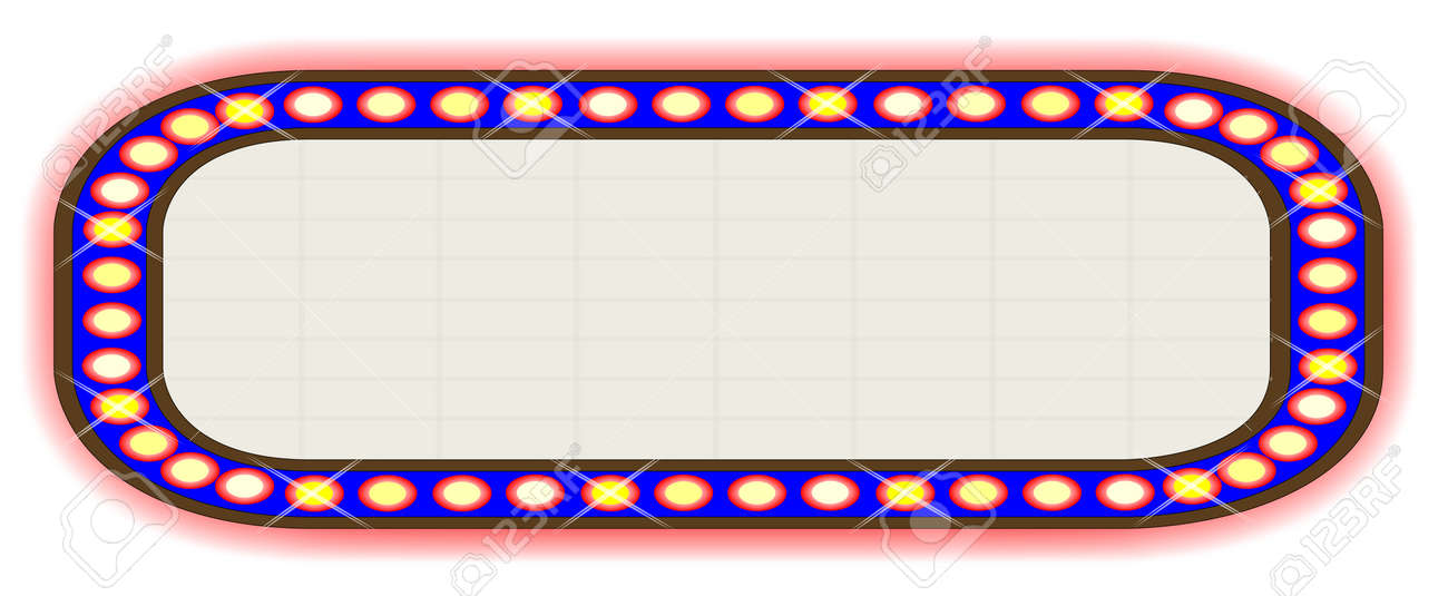 a blank movie theatre or theatre marquee royalty free cliparts rh 123rf com