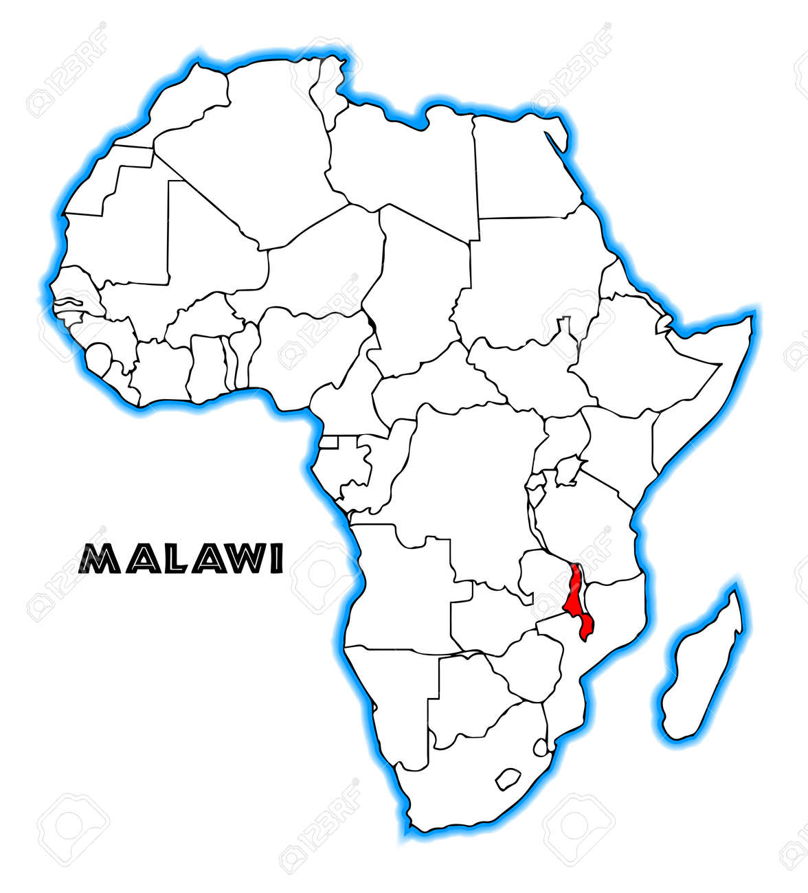 Malawi outline inset into a map of Africa over a white background on malawi religion, malawi food, malawi currency, europe map, malawi culture, malawi animals, malawi president, malawi landscape, malawi army, world map, malawi people, malawi flag, malawi sports, malawi houses, malawi capital, malawi wildlife,