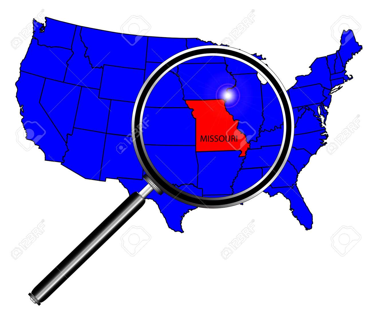Missouri Map Missouri State Outline Easy Line Graphs - Missouri map of us