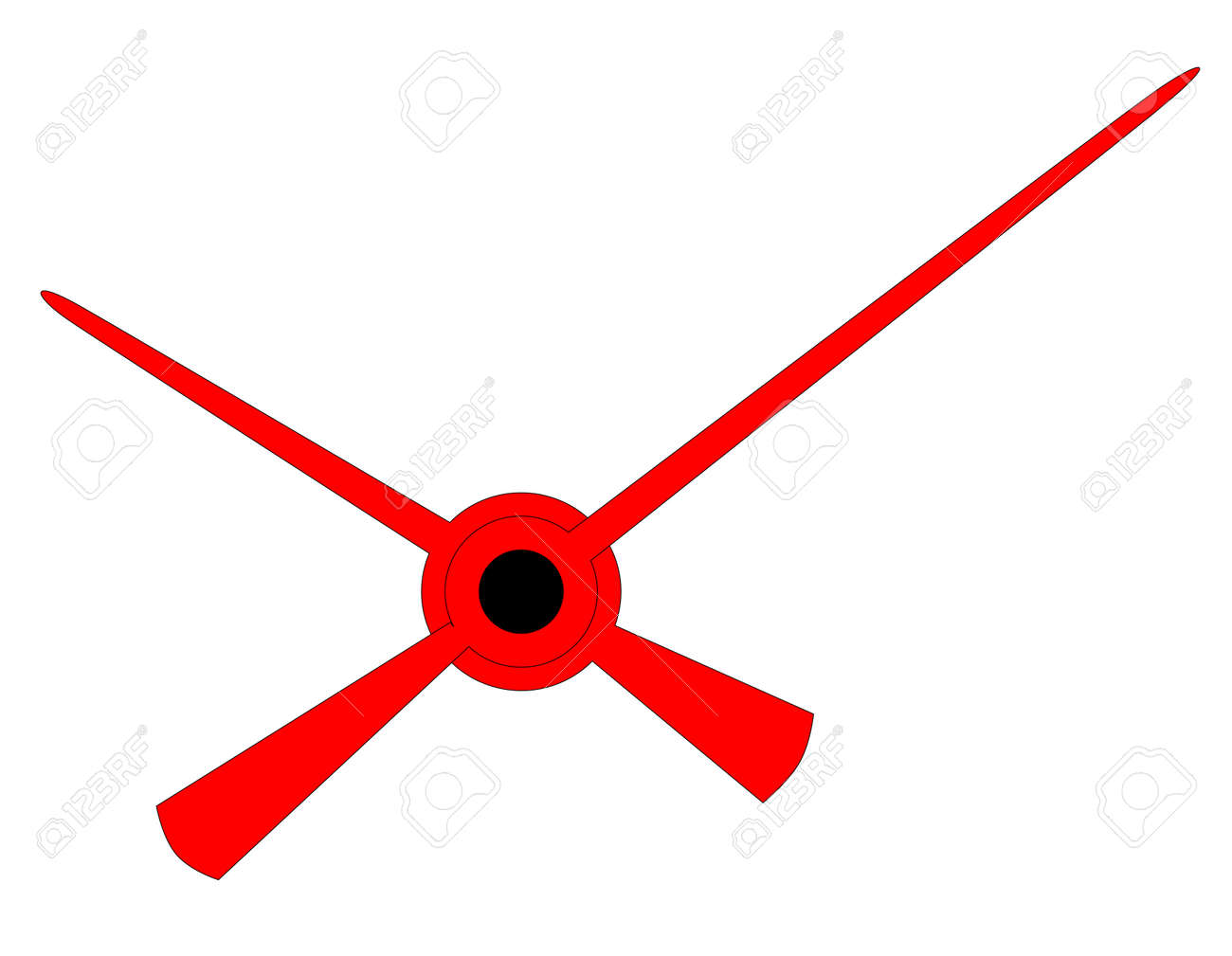 clock hands in red isolated over a white background royalty free rh 123rf com clock hands vector free download clock hands vector free download