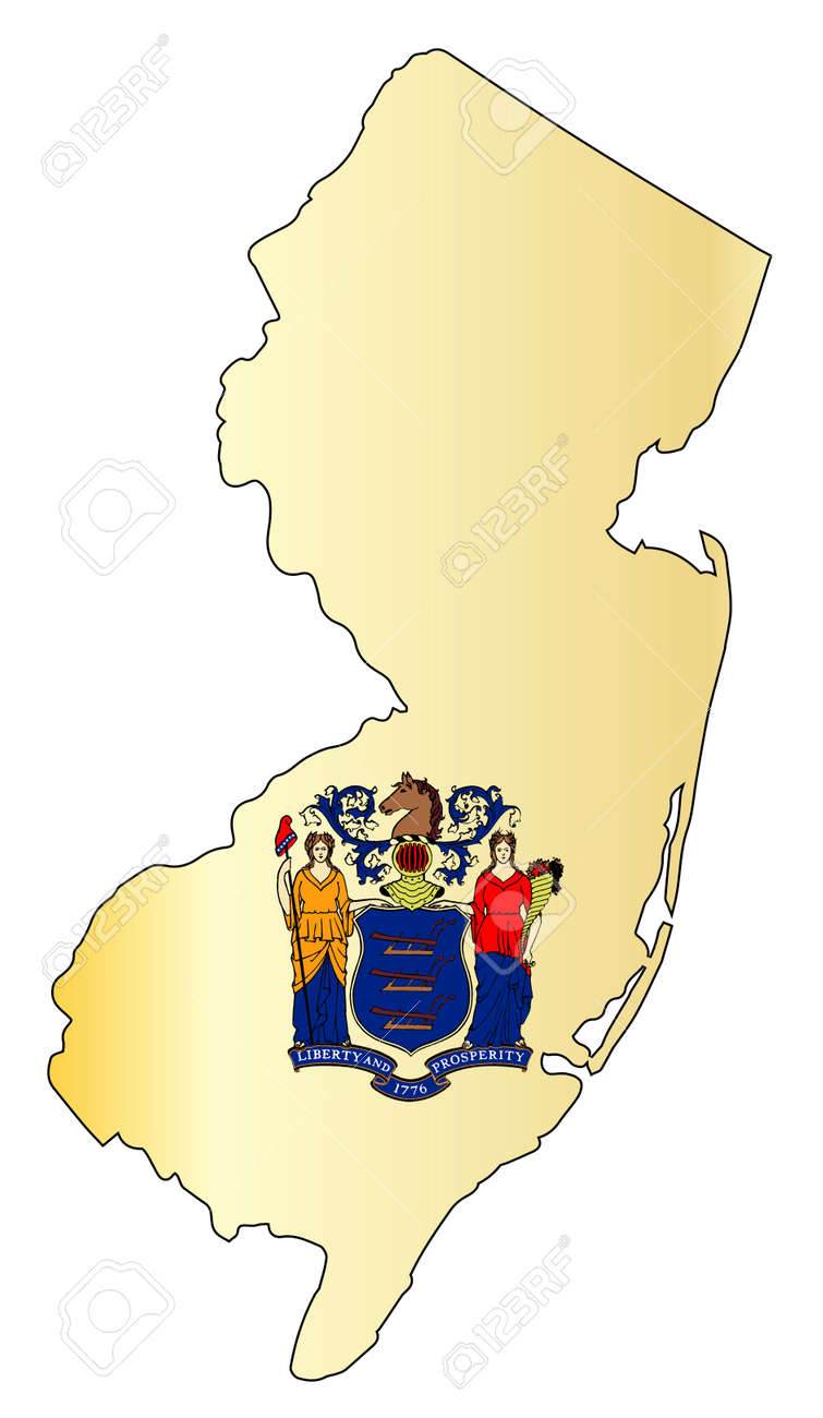 Outline map of the state of New Jersey with map insert. on connect map, line map, find map, read map, map with inset map, search map, create map, move map, change map, legend on a map, view map, make your own wedding map, data map, inner map, esc map, open map, locate map, add map, locator map,