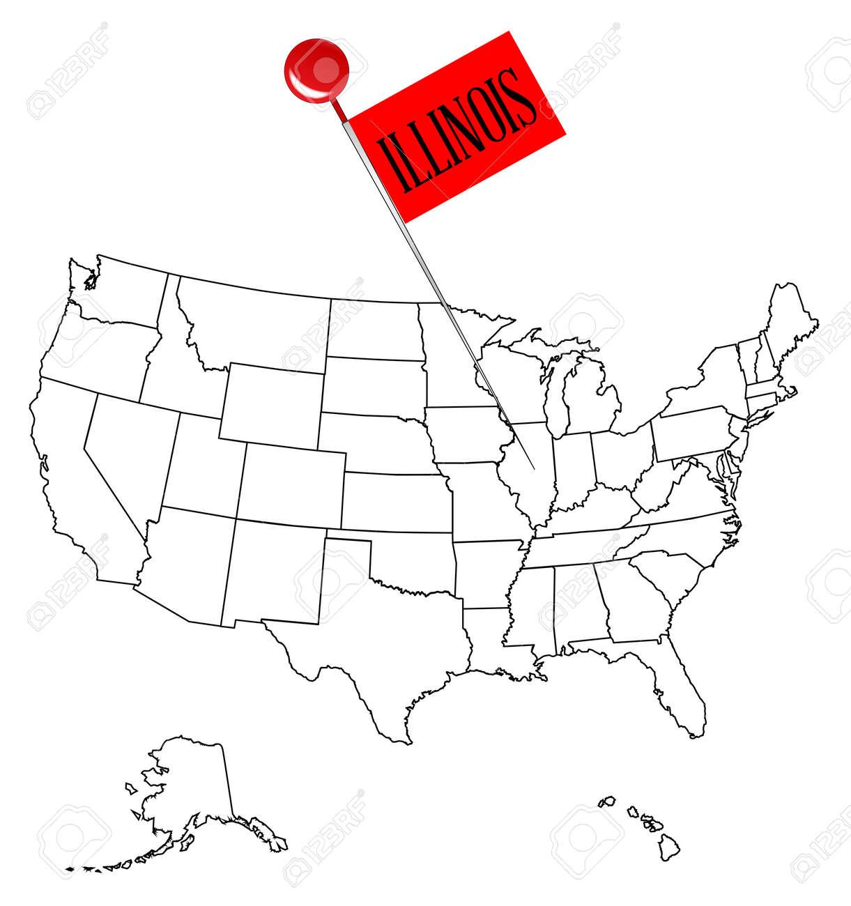 アメリカ イリノイ 州