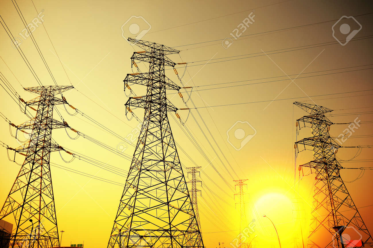 Power transmission tower Stock Photo - 17291856