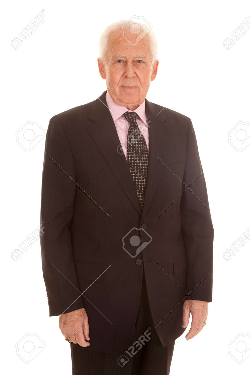 Old Guy In Suit