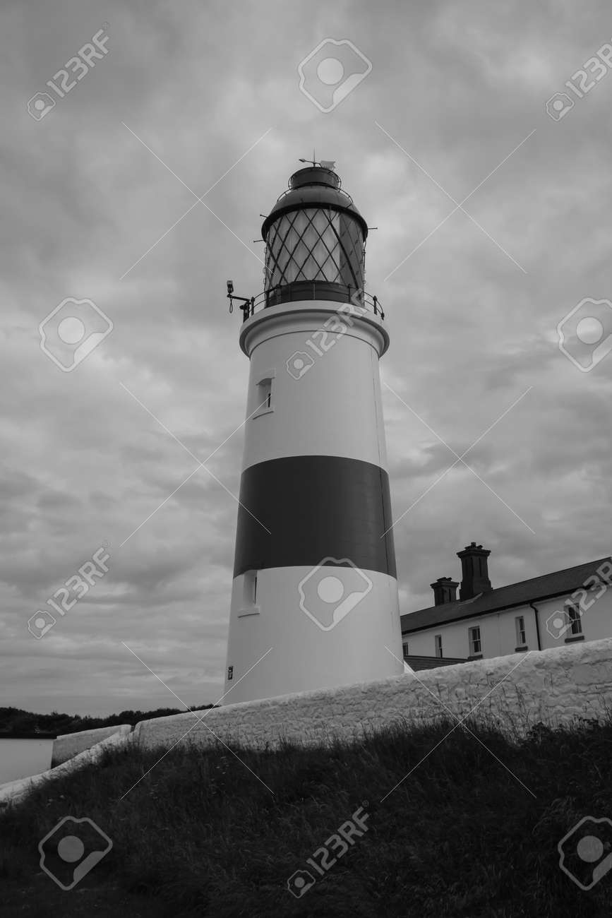 Lighthouse Black And White Photography