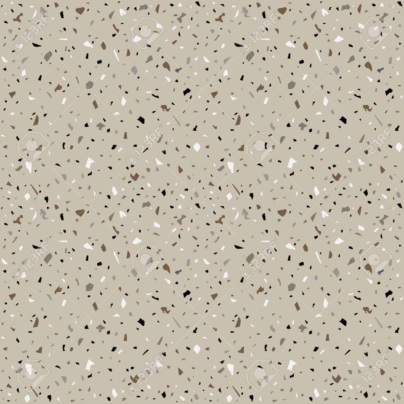 Granite stone terrazzo floor texture  Abstract background, seamless