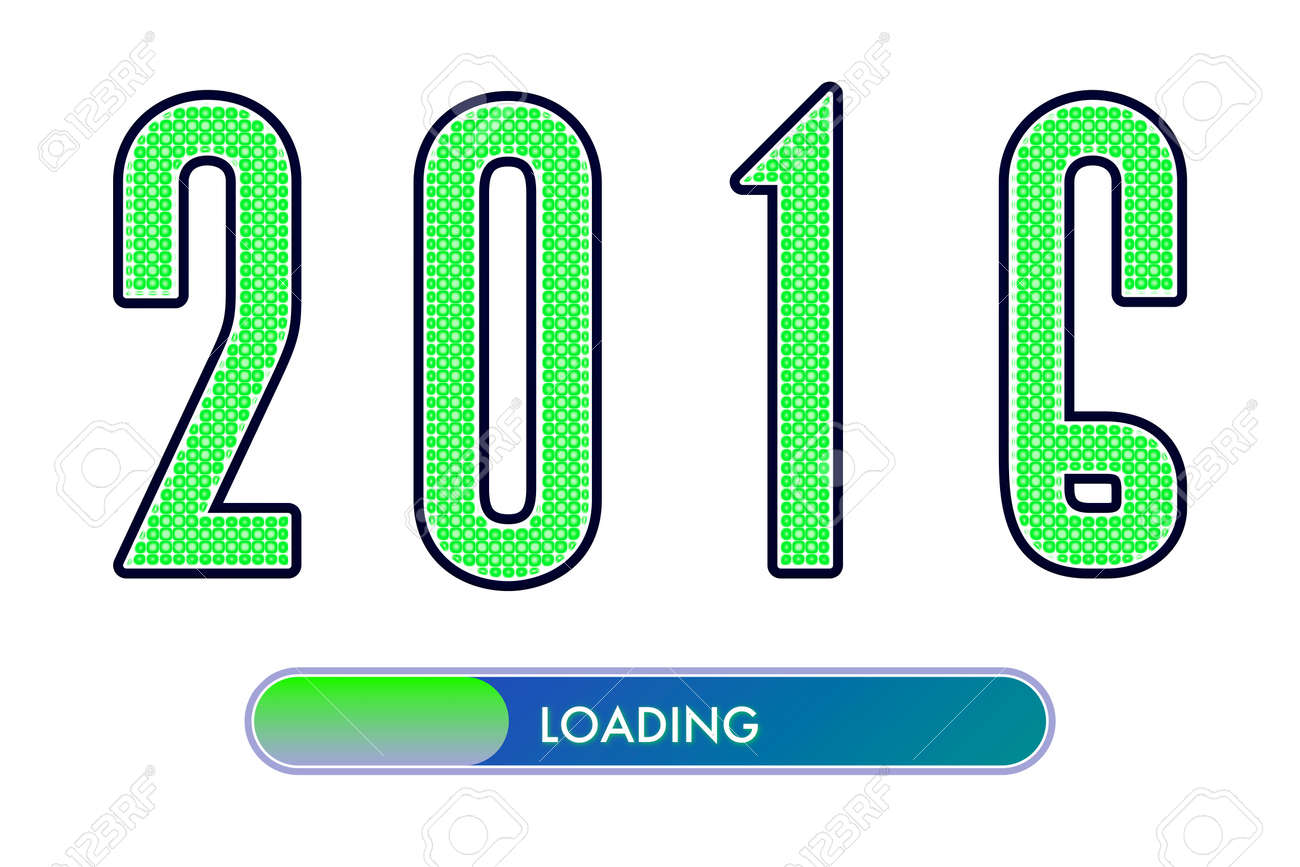2016 with loading symbol stock photo picture and royalty free 2016 with loading symbol stock photo 44312784 biocorpaavc Image collections
