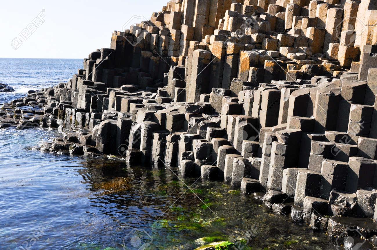 Giant s Causeway, County Antrim, Northern Ireland Stock Photo - 16483552