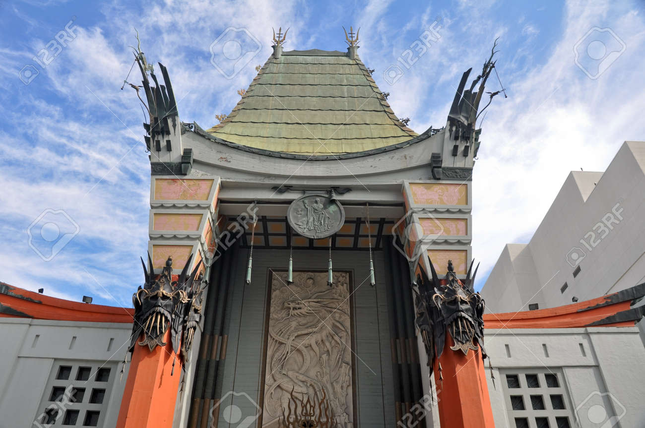 Grauman s Chinese Theatre, Hollywood, California - 17508589