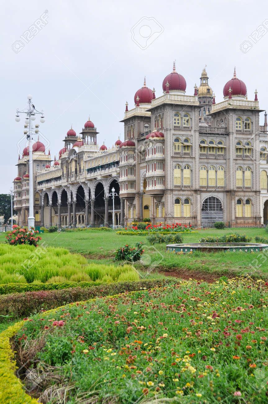 The Mysore Palace, India Stock Photo - 17985968