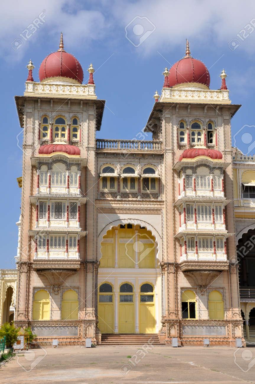 The Mysore Palace, India Stock Photo - 17906789