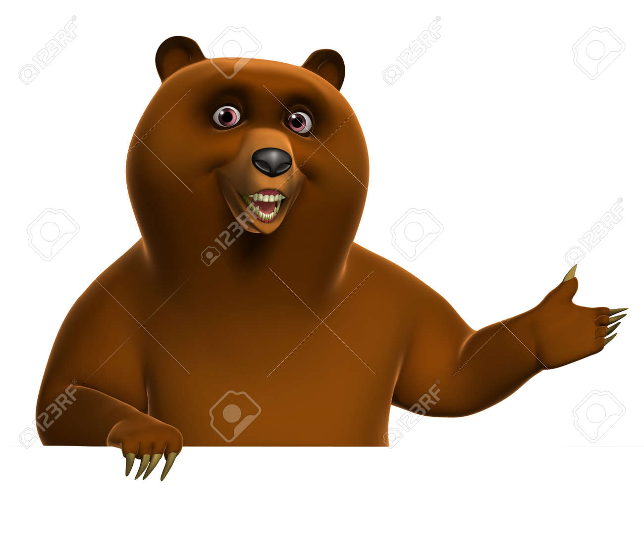 Brown grizzly bear Stock Photo - 15611956