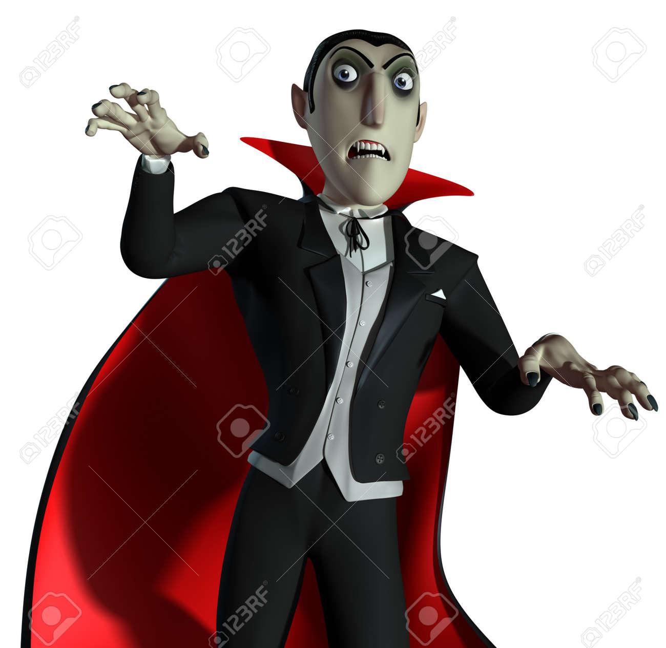 3d Count Dracula Stock Photo - 15612107