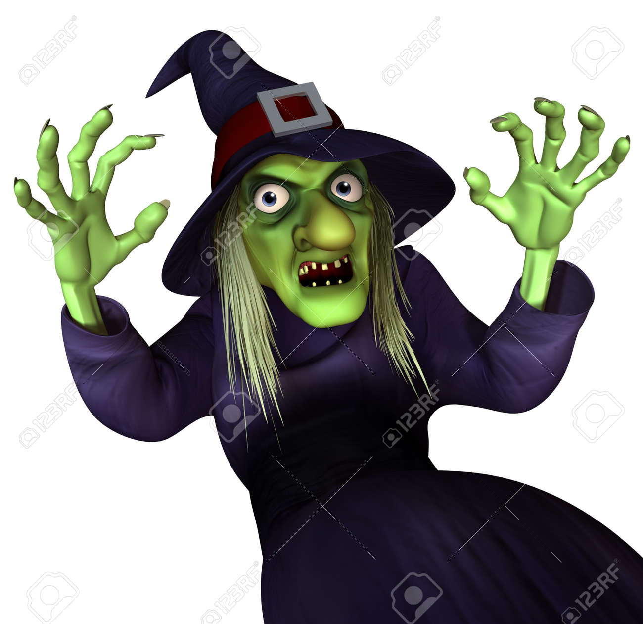 3d cartoon halloween witch - Halloween Which