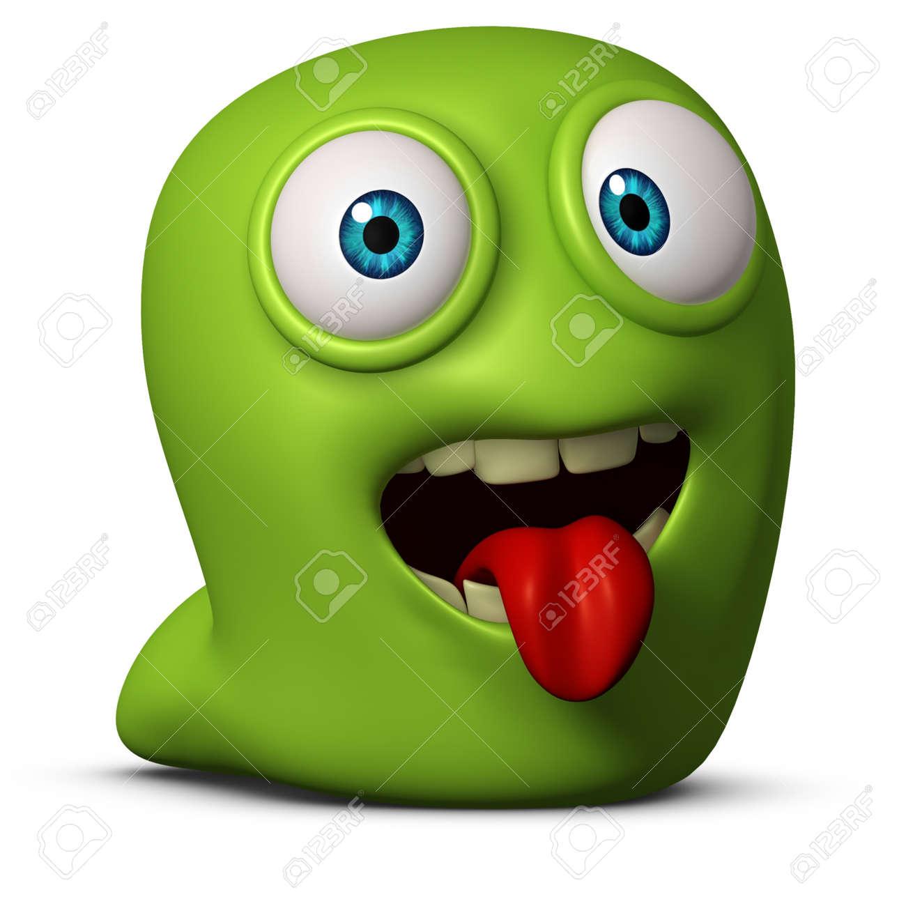 3d cartoon cute worm Stock Photo - 15732127