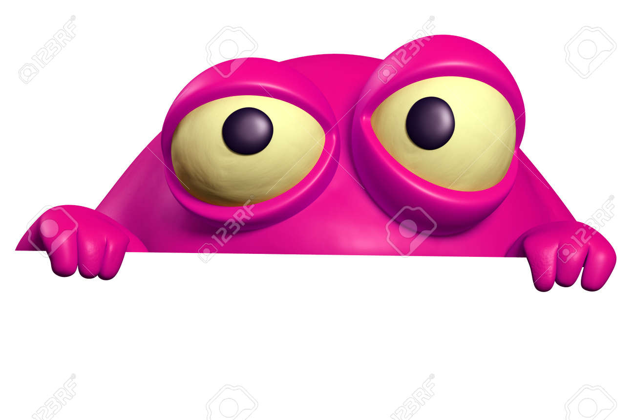 pink monster Stock Photo - 15743225