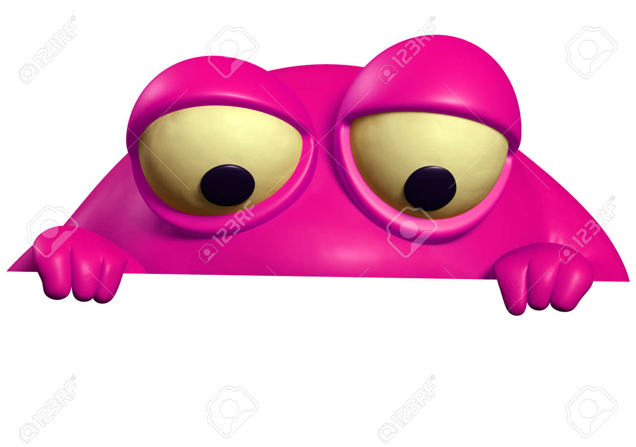 pink monster Stock Photo - 15743233